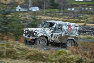 Land Rover DEFENDER CHALLENGE by Bowler Motorsport - Borders Rally Season Finale 25