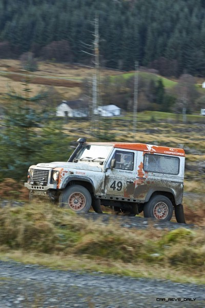 Land Rover DEFENDER CHALLENGE by Bowler Motorsport - Borders Rally Season Finale 26