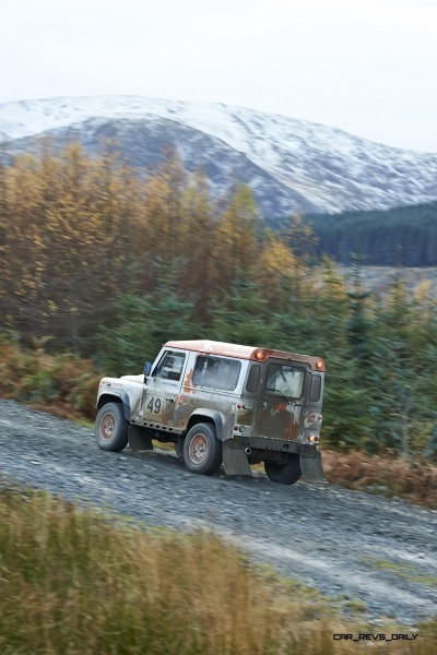 Land Rover DEFENDER CHALLENGE by Bowler Motorsport - Borders Rally Season Finale 27