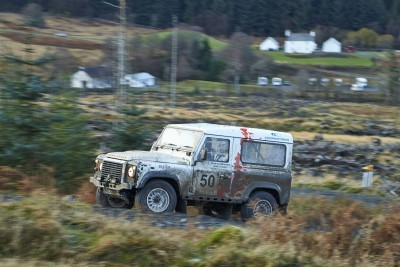 Land Rover DEFENDER CHALLENGE by Bowler Motorsport - Borders Rally Season Finale 28