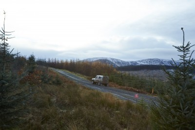 Land Rover DEFENDER CHALLENGE by Bowler Motorsport - Borders Rally Season Finale 29