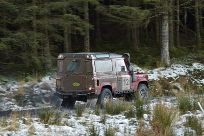 Land Rover DEFENDER CHALLENGE by Bowler Motorsport - Borders Rally Season Finale 3
