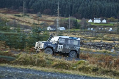 Land Rover DEFENDER CHALLENGE by Bowler Motorsport - Borders Rally Season Finale 30