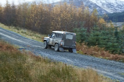 Land Rover DEFENDER CHALLENGE by Bowler Motorsport - Borders Rally Season Finale 31