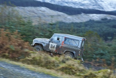 Land Rover DEFENDER CHALLENGE by Bowler Motorsport - Borders Rally Season Finale 32