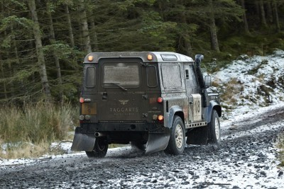 Land Rover DEFENDER CHALLENGE by Bowler Motorsport - Borders Rally Season Finale 4