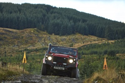 Land Rover DEFENDER CHALLENGE by Bowler Motorsport - Borders Rally Season Finale 43