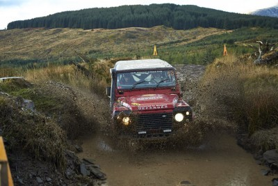 Land Rover DEFENDER CHALLENGE by Bowler Motorsport - Borders Rally Season Finale 44