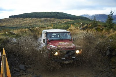 Land Rover DEFENDER CHALLENGE by Bowler Motorsport - Borders Rally Season Finale 45