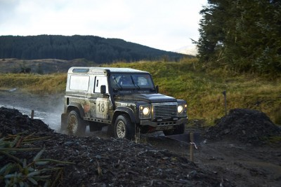 Land Rover DEFENDER CHALLENGE by Bowler Motorsport - Borders Rally Season Finale 46