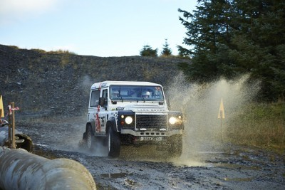 Land Rover DEFENDER CHALLENGE by Bowler Motorsport - Borders Rally Season Finale 47