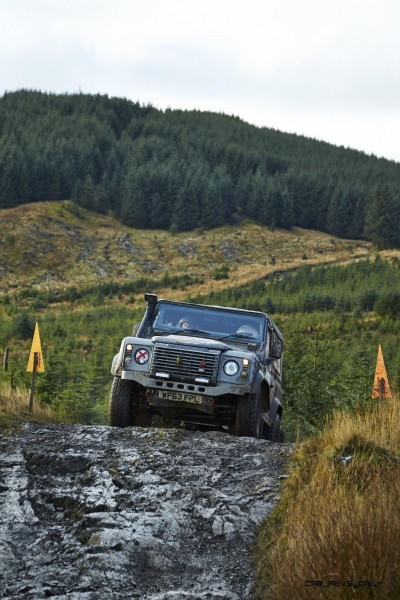 Land Rover DEFENDER CHALLENGE by Bowler Motorsport - Borders Rally Season Finale 48