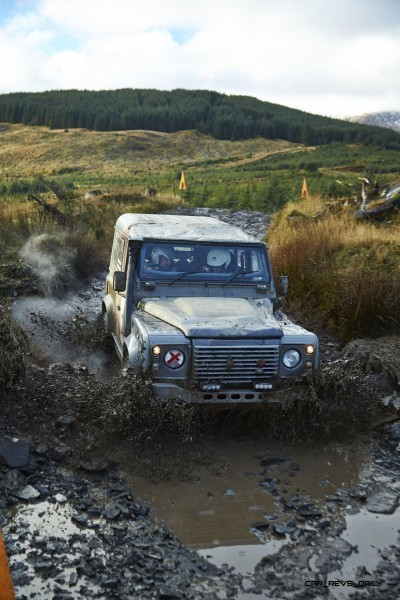 Land Rover DEFENDER CHALLENGE by Bowler Motorsport - Borders Rally Season Finale 49