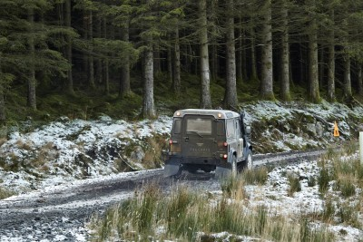 Land Rover DEFENDER CHALLENGE by Bowler Motorsport - Borders Rally Season Finale 5