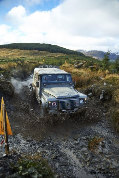 Land Rover DEFENDER CHALLENGE by Bowler Motorsport - Borders Rally Season Finale 50