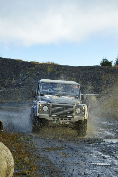 Land Rover DEFENDER CHALLENGE by Bowler Motorsport - Borders Rally Season Finale 51