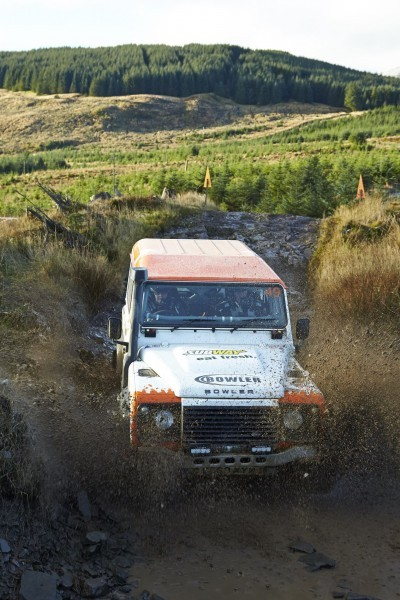 Land Rover DEFENDER CHALLENGE by Bowler Motorsport - Borders Rally Season Finale 54