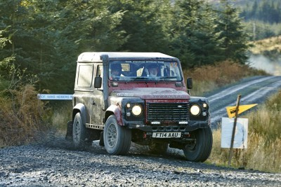 Land Rover DEFENDER CHALLENGE by Bowler Motorsport - Borders Rally Season Finale 55