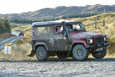 Land Rover DEFENDER CHALLENGE by Bowler Motorsport - Borders Rally Season Finale 57