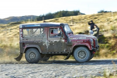 Land Rover DEFENDER CHALLENGE by Bowler Motorsport - Borders Rally Season Finale 58