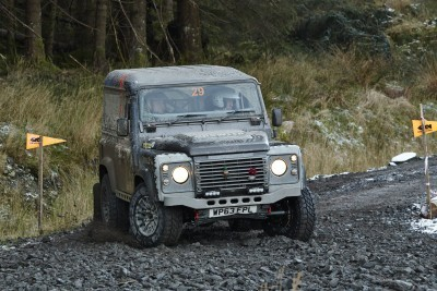 Land Rover DEFENDER CHALLENGE by Bowler Motorsport - Borders Rally Season Finale 6