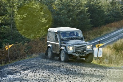 Land Rover DEFENDER CHALLENGE by Bowler Motorsport - Borders Rally Season Finale 60