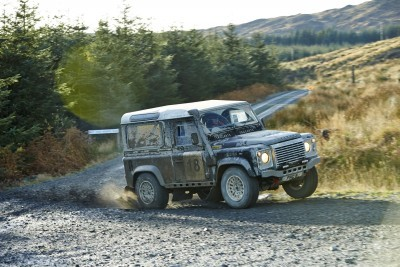 Land Rover DEFENDER CHALLENGE by Bowler Motorsport - Borders Rally Season Finale 61