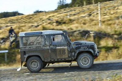 Land Rover DEFENDER CHALLENGE by Bowler Motorsport - Borders Rally Season Finale 62
