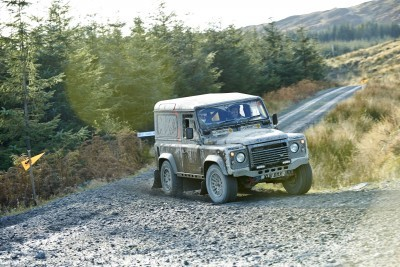 Land Rover DEFENDER CHALLENGE by Bowler Motorsport - Borders Rally Season Finale 63
