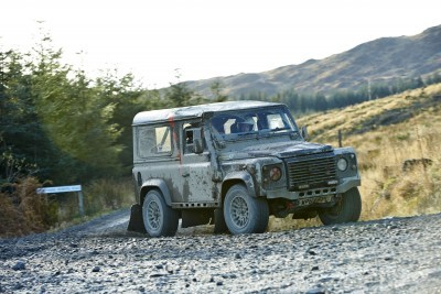 Land Rover DEFENDER CHALLENGE by Bowler Motorsport - Borders Rally Season Finale 65
