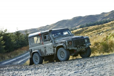 Land Rover DEFENDER CHALLENGE by Bowler Motorsport - Borders Rally Season Finale 66