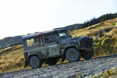 Land Rover DEFENDER CHALLENGE by Bowler Motorsport - Borders Rally Season Finale 67