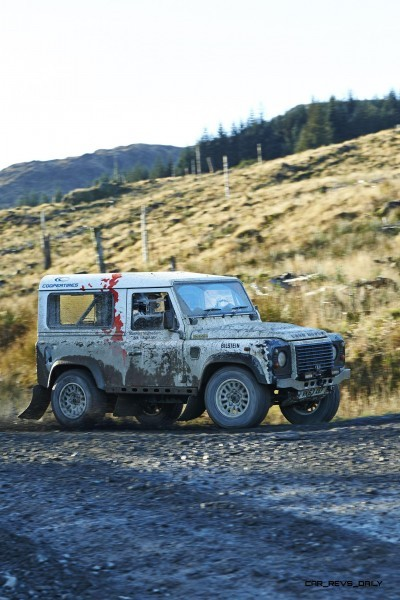 Land Rover DEFENDER CHALLENGE by Bowler Motorsport - Borders Rally Season Finale 71