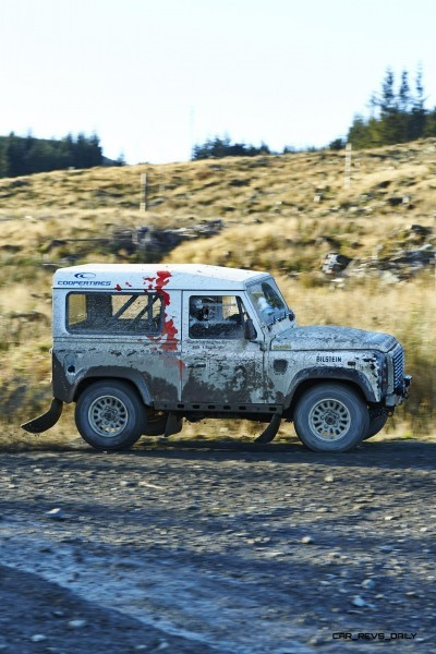 Land Rover DEFENDER CHALLENGE by Bowler Motorsport - Borders Rally Season Finale 72