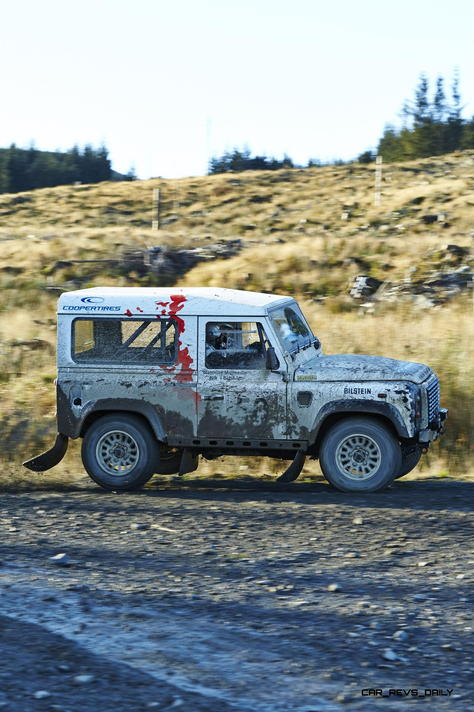 Land Rover Defender Challenge By Bowler Motorsport Borders Rally Click To Open Largest Resolution Image
