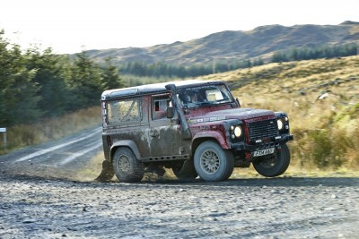 Land Rover DEFENDER CHALLENGE by Bowler Motorsport - Borders Rally Season Finale 75