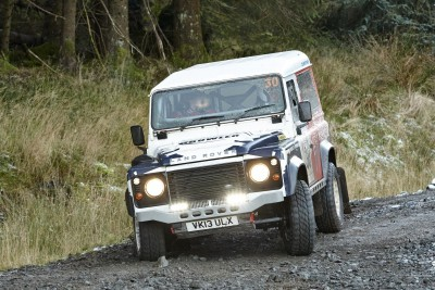 Land Rover DEFENDER CHALLENGE by Bowler Motorsport - Borders Rally Season Finale 8