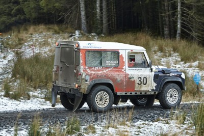 Land Rover DEFENDER CHALLENGE by Bowler Motorsport - Borders Rally Season Finale 9