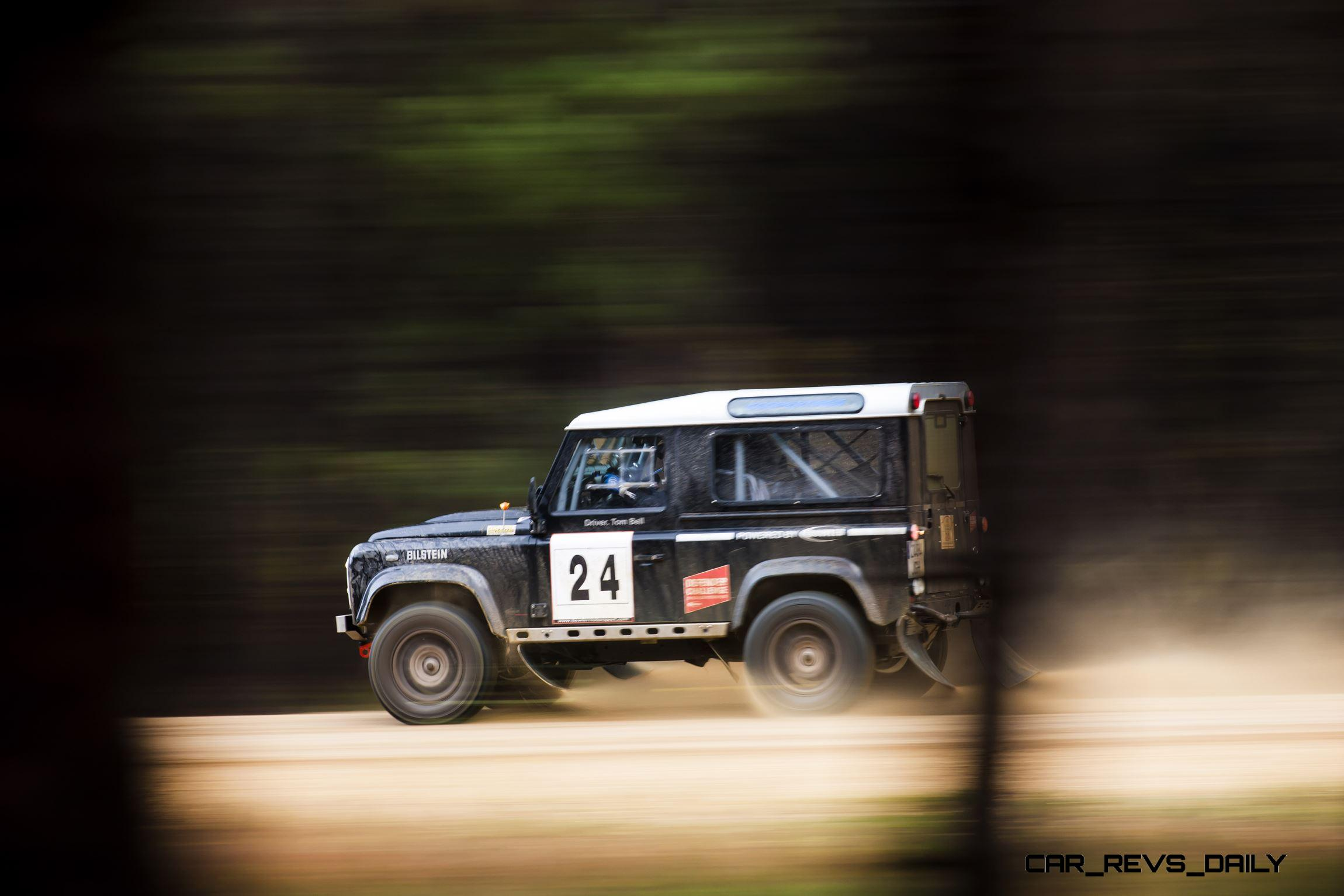 Land Rover Defender Challenge By Bowler Motorsport Tempest Rally 37 Click To Open Largest Resolution Image