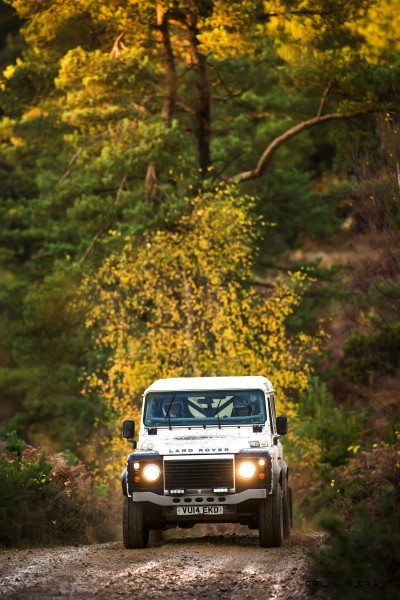 Land Rover Defender Challenge 2015.