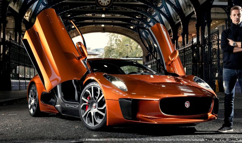 SPECTRE driver Martin Ivanov to drive the Jaguar C-X75 in its first public appearance at the Lord Mayors Show on November 14th 2015.