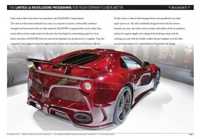 MANSORY Ferrari F12 Revoluzione 10
