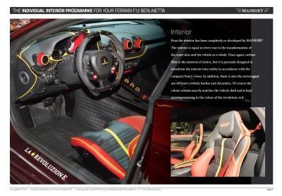 MANSORY Ferrari F12 Revoluzione 11