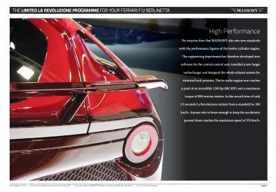 MANSORY Ferrari F12 Revoluzione 13