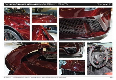 MANSORY Ferrari F12 Revoluzione 16