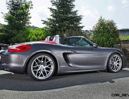 Porsche Boxster Paradox – Best Sportscar No One Craves?  20-Inch Schmidt Revo Alloys Help