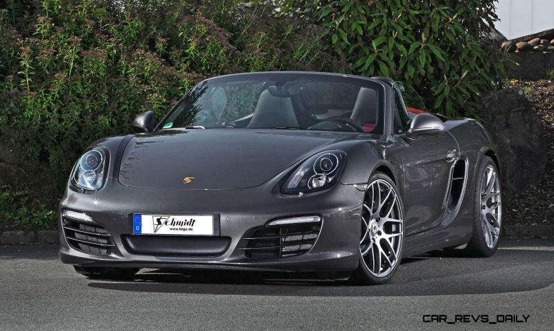 Porsche Boxster by SCHMIDT Revolution 6