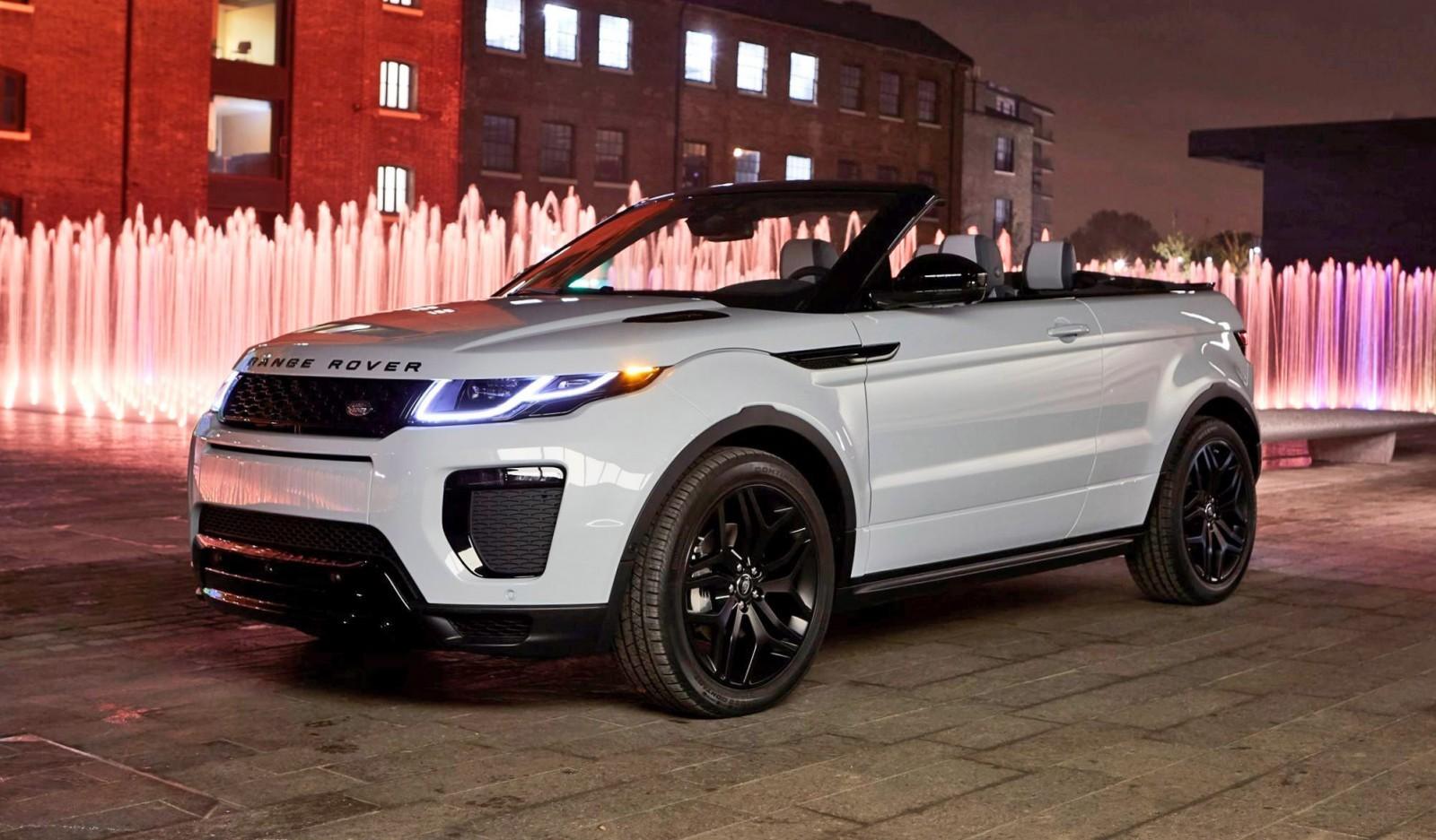 2016 range rover evoque convertible world premiere. Black Bedroom Furniture Sets. Home Design Ideas