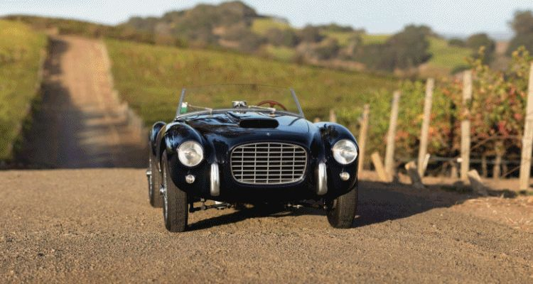 RM NYC 2015 - 1954 Siata 208S Spider by Motto