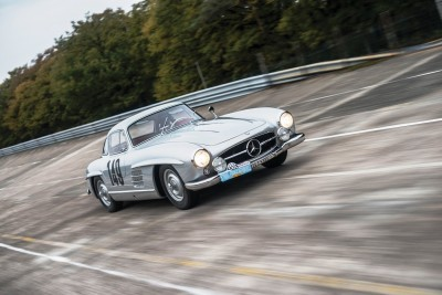 RM NYC 2015 - 1955 Mercedes-Benz 300SL Sportabteilung Gullwing 1